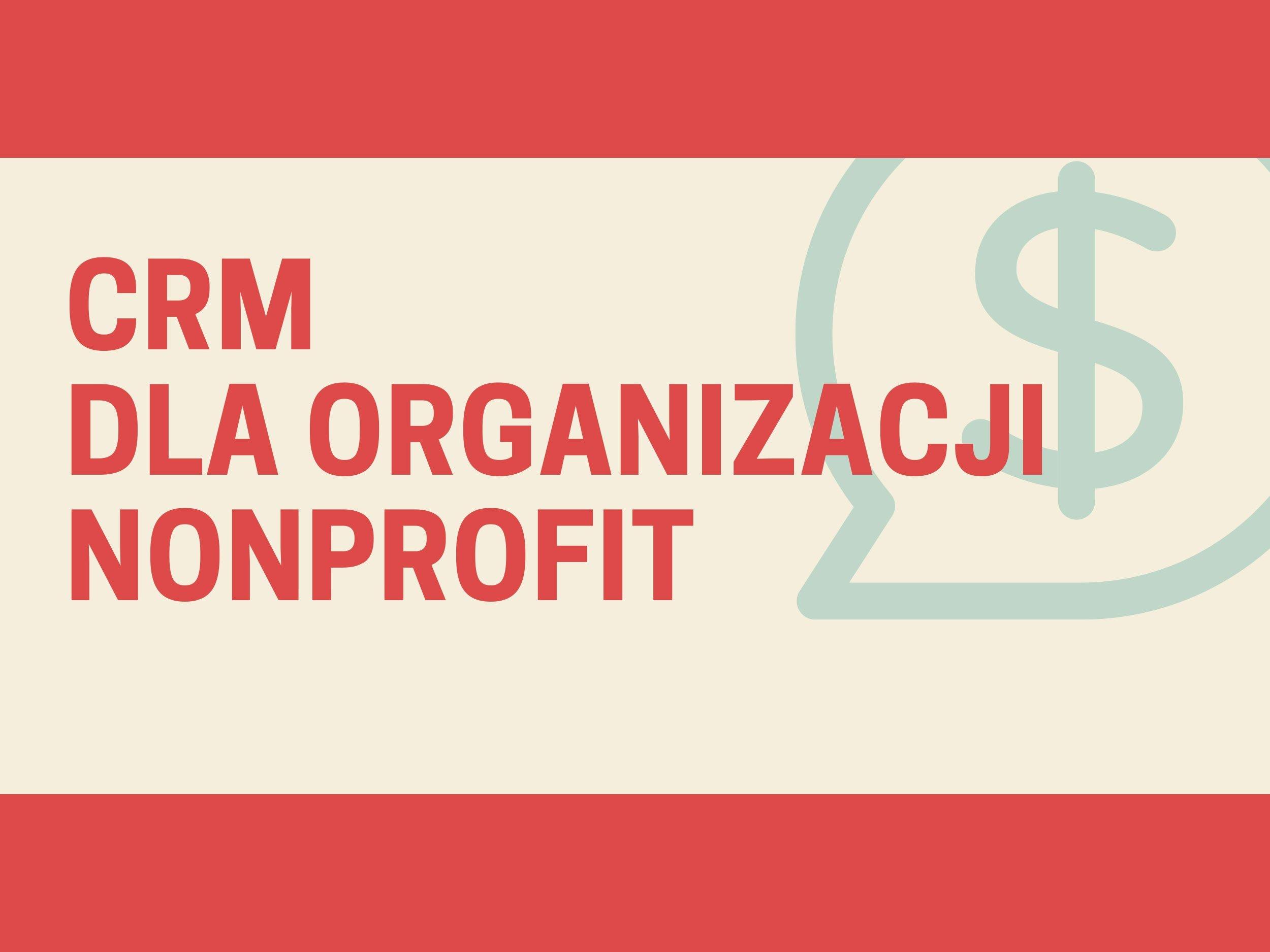 CRM dla organizacji non-profit