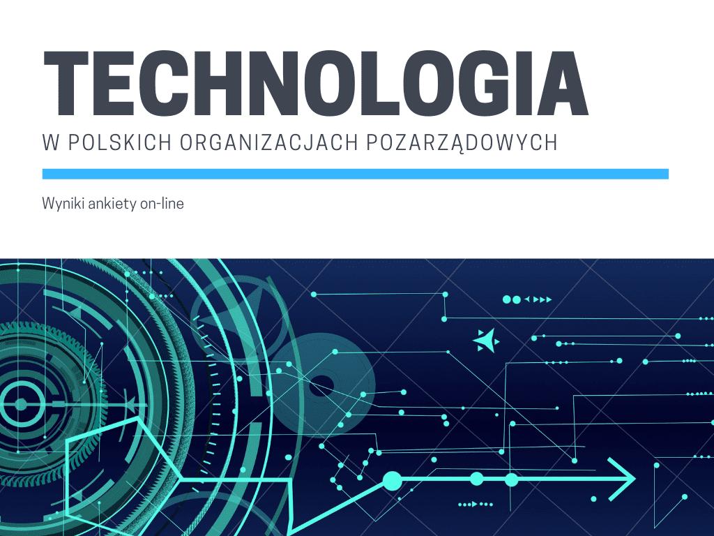 Technologia w polskich organizacjach