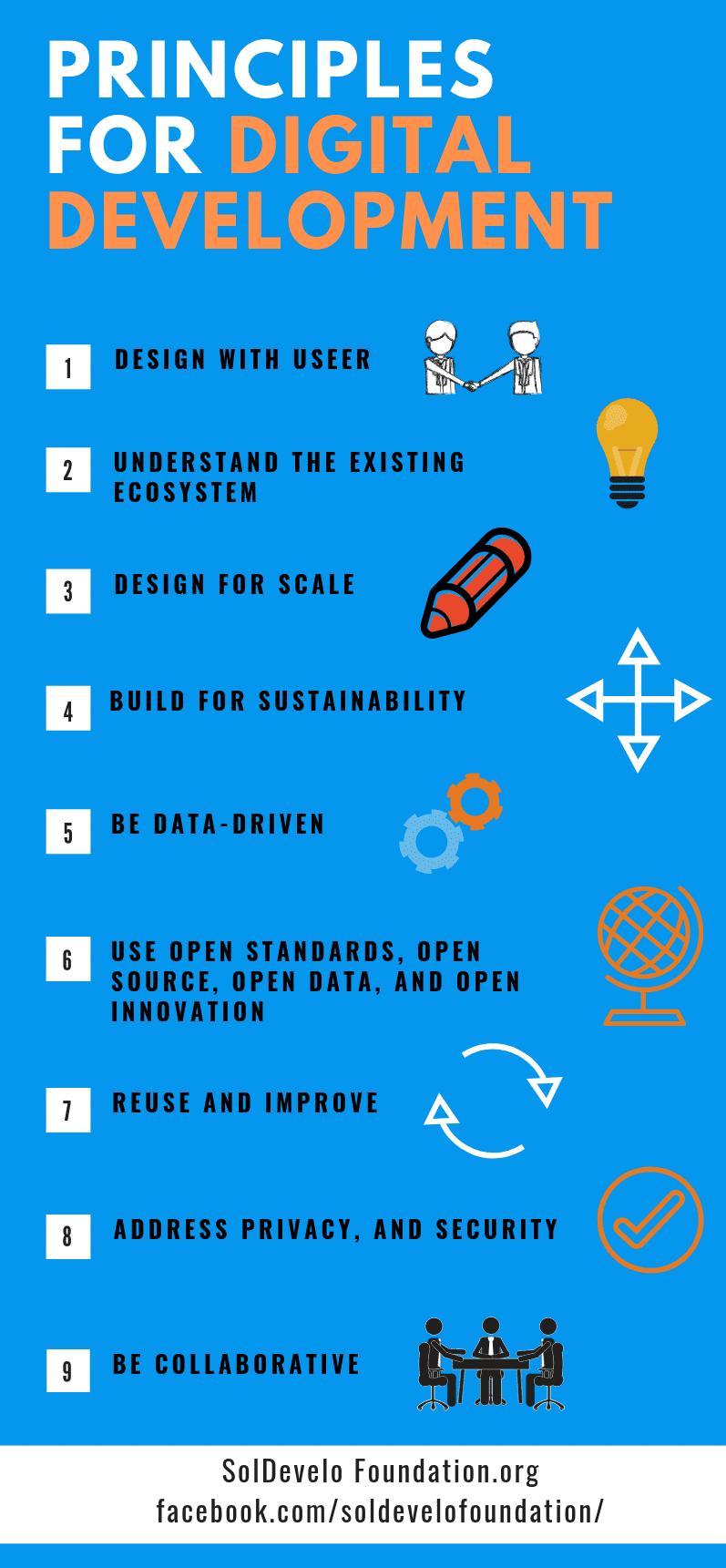 soldevelo foundation, principles for digital development, technology,