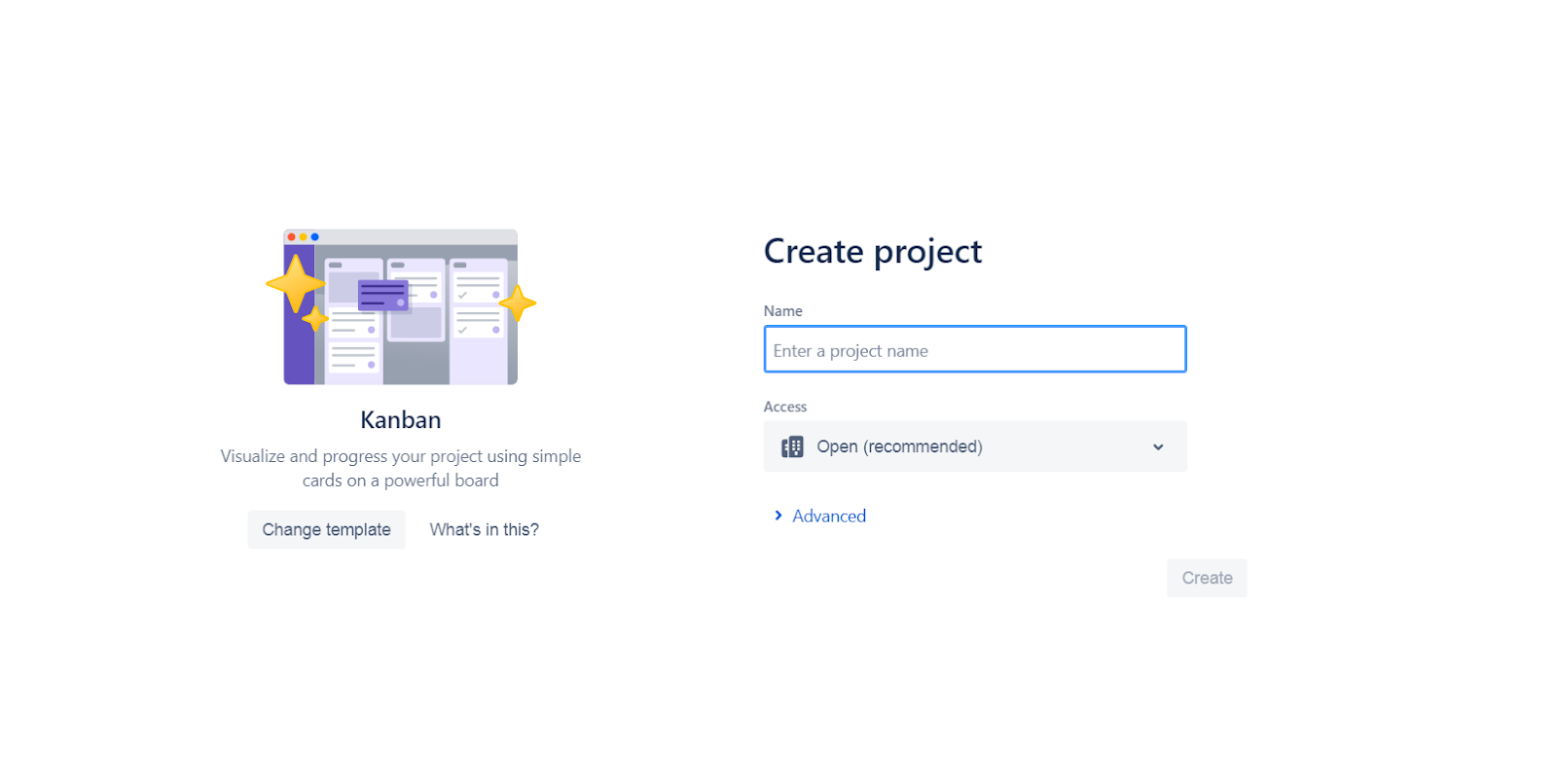 jira software, jira projects, first steps, project in jira, agile methodology, kanban